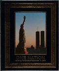 Books:Americana & American History, [Life Magazine]. One Nation: America Remembers September 11,2001. Little, Brown, 2001. First edition, first printin...