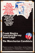 "Movie Posters:Thriller, The Manchurian Candidate (United Artists, 1962). One Sheet (27"" X 41""). Thriller.. ..."