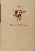 Books:Americana & American History, Ramon F. Adams. SIGNED/LIMITED. The Old-Time Cowhand.Macmillan, 1961. First edition, first printing. Limited to 3...