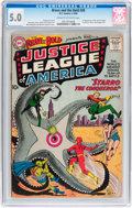 Silver Age (1956-1969):Superhero, The Brave and the Bold #28 Justice League of America (DC, 1960) CGC VG/FN 5.0 Cream to off-white pages....