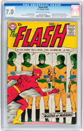Silver Age (1956-1969):Superhero, The Flash #105 (DC, 1959) CGC FN/VF 7.0 Cream to off-whitepages....