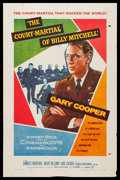"""Movie Posters:War, The Court-Martial of Billy Mitchell (Warner Brothers, 1956). OneSheet (27"""" X 41"""") & Lobby Cards (3) (11"""" X 14""""). War.. ...(Total: 4 Items)"""