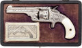Handguns:Single Action Revolver, Cased Factory Engraved Smith & Wesson Early Model No. 1 1/2 Spur Trigger Pocket Revolver. ...