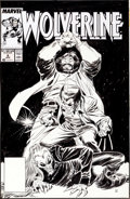 Original Comic Art:Covers, John Buscema and Al Williamson Wolverine #6 Cover OriginalArt (Marvel, 1989)....