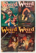 Pulps:Horror, Weird Tales Group (Popular Fiction, 1939-41) Condition: AverageVG.... (Total: 10 Items)