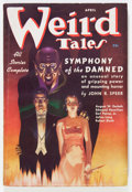 Pulps:Horror, Weird Tales - April '37 (Popular Fiction, 1937) Condition: FN-....