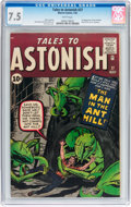 Silver Age (1956-1969):Superhero, Tales to Astonish #27 (Marvel, 1962) CGC VF- 7.5 White pages....