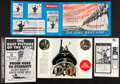 """Movie Posters:War, War Lot (Various, 1950s-1970s). Pressbooks (17 ) (Multiple Pages,11"""" X 17"""", 12.5"""" X 18"""", & 13"""" X 16.5""""), Program (10"""" X 14...(Total: 19 Items)"""