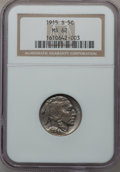 Buffalo Nickels: , 1915-S 5C MS62 NGC. NGC Census: (54/333). PCGS Population (50/529).Mintage: 1,505,000. Numismedia Wsl. Price for problem f...