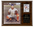 "Autographs:Photos, Roy Campanella Signed Photograph. Limited-edition (188 of 1,000)8x10"" photo has been graced by a strong post-accident sign..."