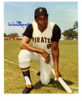 """Autographs:Photos, Willie Stargell Signed Photograph. """"Pops,"""" as he became affectionately known in his later playing years, is the subject of ..."""