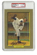 Autographs:Post Cards, 1988 Perez-Steele Great Moments Signed Lefty Gomez Postcard, PSAAuthentic. The high leg kick that Lefty Gomez was known fo...