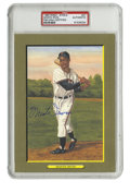 Autographs:Post Cards, 1988 Perez-Steele Great Moments Signed Monte Irvin Postcard, PSAAuthentic. One of the originals who crossed baseball's inf...