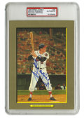 Autographs:Post Cards, 1988 Perez-Steele Great Moments Signed Brooks Robinson Postcard,PSA Authentic. The Human Vacuum Cleaner, as he was known f...