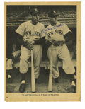 Autographs:Others, Mickey Mantle Signed Magazine Pages Lot of 3. Plucked fromperiodicals of the era when Mantle ruled New York, these three v...(Total: 3 Items)