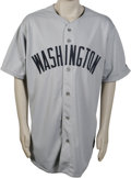 Baseball Collectibles:Uniforms, 2002 Texas Rangers Game-Worn #11 Throwback Jersey. Yet anotherTexas Rangers throwback jersey from the 2002 season, a road ...