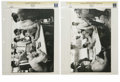 Boxing Collectibles:Memorabilia, 1970 Muhammad Ali-Jerry Quarry Photographs Lot of 2. After being stripped of his championship, Muhammad Ali returned to the...