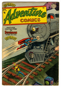 Adventure Comics #186 (DC, 1953) Condition: VG/FN. Curt Swan cover. Henry Boltinoff, George Papp, and Win Mortimer art...