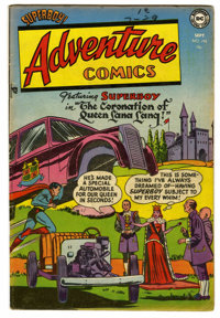 Adventure Comics #192 (DC, 1953) Condition: FN. Curt Swan cover. George Papp, Win Mortimer, and Henry Boltinoff art. Ove...