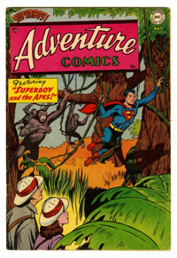 Adventure Comics #200 (DC, 1954) Condition: FN/VF. Curt Swan cover. Henry Boltinoff and George Papp art. Superboy, Green...