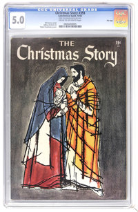 Catechetical Guild Giveaways #393 Christmas Story 15 cent - File Copy (Catechetical Guild, 1955) CGC VG/FN 5.0 Cream to...