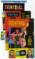 Modern Age (1980-Present):Alternative/Underground, Eightball #1-17 Group (Fantagraphics Books, 189-96) Condition: Average NM. Includes #1, 2, 3, 4, 5, 6, 7, 8, 9, 10, 11, 12, ... (Total: 13 Comic Books)
