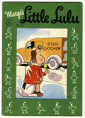 Golden Age (1938-1955):Cartoon Character, Four Color #120 Marge's Little Lulu (Dell, 1946) Condition: FN+.Original owner collection with off-white pages. Overstreet ...