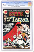 Bronze Age (1970-1979):Miscellaneous, Korak, Son of Tarzan #50 (DC, 1973) CGC NM+ 9.6 White pages. Carsonof Venus back-up story. Joe Kubert cover. Overstreet 200...