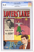 Golden Age (1938-1955):Romance, Lovers' Lane #39 (Lev Gleason, 1954) CGC VF 8.0 Cream to off-whitepages. Frank Sinatra partial photo cover and story. Bill ...