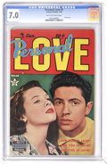 Golden Age (1938-1955):Romance, Personal Love #1 (Famous Funnies, 1950) CGC FN/VF 7.0 Tan to off-white pages. Photo cover. Overstreet 2006 FN 6.0 value = $6...