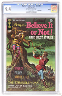 Ripley's Believe It Or Not #12 File Copy (Gold Key, 1969) CGC NM 9.4 Off-white to white pages. Painted cover. Overstreet...