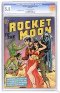 Golden Age (1938-1955):Science Fiction, Rocket to the Moon #nn (Avon, 1951) CGC FN- 5.5 Tan to off-white pages. Joe Orlando cover art featuring aliens, a spaceman w...