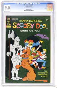 Scooby Doo #10 File Copy (Gold Key, 1972) CGC VF/NM 9.0 Off-white pages. Overstreet 2006 VF/NM 9.0 value = $65; NM- 9.2...
