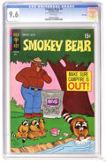 Bronze Age (1970-1979):Cartoon Character, Smokey Bear #6 File Copy (Gold Key, 1971) CGC NM+ 9.6 White pages.Overstreet 2006 NM- 9.2 value = $12. CGC census 7/06: 4 i...