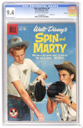 Silver Age (1956-1969):Adventure, Spin and Marty #9 File Copy (Dell, 1959) CGC NM 9.4 Off-white to white pages. Photo cover. Overstreet 2006 NM- 9.2 value = $...