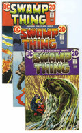 Bronze Age (1970-1979):Horror, Swamp Thing Small Box Group (DC, 1972-86) Condition: Average VG/FN.Lot contains many duplicate copies of Swamp Thing an...
