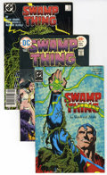Bronze Age (1970-1979):Horror, Swamp Thing Group (DC, 1975-93) Condition: Average VF. Containsmany issues from #16 (2 copies) to #131 (Vertigo) Highlights...(Total: 66)