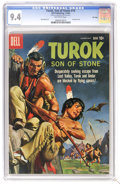 Silver Age (1956-1969):Adventure, Turok #19 File Copy (Dell, 1960) CGC NM 9.4 Off-white pages. Painted cover. Currently, highest CGC grade. Overstreet 2006 NM...