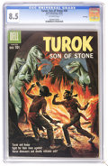 Silver Age (1956-1969):Adventure, Turok #20 File Copy (Dell, 1960) CGC VF+ 8.5 Off-white pages. Painted cover. Overstreet 2006 VF 8.0 value = $79; VF/NM 9.0 v...