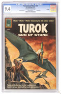 Silver Age (1956-1969):Adventure, Turok #24 File Copy (Dell, 1961) CGC NM 9.4 Off-white to white pages. Painted cover. Alberto Giolitti art. Overstreet 2006 N...