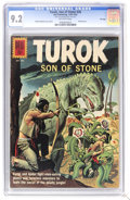 Silver Age (1956-1969):Adventure, Turok #26 File Copy (Dell, 1962) CGC NM- 9.2 Off-white pages. Painted cover. Alberto Giolitti cover and art. Overstreet 2006...