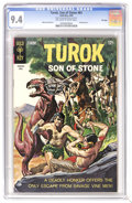 Silver Age (1956-1969):Adventure, Turok #61 File Copy (Gold Key, 1968) CGC NM 9.4 Off-white to white pages. Painted cover. Alberto Giolitti art. Overstreet 20...