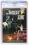 Silver Age (1956-1969):Horror, Twilight Zone #12 File Copy (Gold Key, 1965) CGC NM- 9.2 Off-whiteto white pages. Painted cover. Back cover pin-up. Al Will...