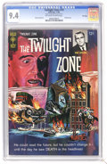 Silver Age (1956-1969):Horror, Twilight Zone #13 File Copy (Gold Key, 1965) CGC NM 9.4 Off-whiteto white pages. Painted cover. Reed Crandall art. Overstre...