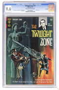 Silver Age (1956-1969):Horror, Twilight Zone #19 File Copy (Gold Key, 1967) CGC NM+ 9.6 Off-whiteto white pages. Painted cover. Joe Orlando and Joe Certa ...