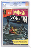 Silver Age (1956-1969):Horror, Twilight Zone #21 File Copy (Gold Key, 1967) CGC NM+ 9.6 Off-whiteto white pages. Painted cover. Overstreet 2006 NM- 9.2 va...