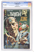 Silver Age (1956-1969):Horror, Twilight Zone #24 File Copy (Gold Key, 1968) CGC NM 9.4 Off-whitepages. Painted cover. Overstreet 2006 NM- 9.2 value = $38....