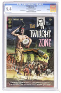 Silver Age (1956-1969):Horror, Twilight Zone #25 File Copy (Gold Key, 1968) CGC NM 9.4 Off-whiteto white pages. Painted cover. Overstreet 2006 NM- 9.2 val...