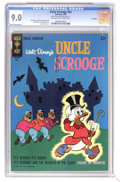 Silver Age (1956-1969):Cartoon Character, Uncle Scrooge #63 File Copy (Gold Key, 1966) CGC VF/NM 9.0 Off-white to white pages. Carl Barks cover, art, and stories. Ton...