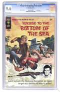 Silver Age (1956-1969):Adventure, Voyage to the Bottom of the Sea #6 (Gold Key, 1966) CGC NM+ 9.6. Painted cover. Back cover pin-up. Alberto Giolitti. Tied fo...